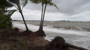 Beach Erosion from Cyclone Dylan