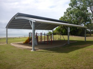 O'neill St shade structure Seaforth