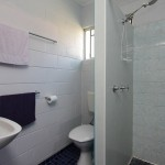 external private shower & toilet